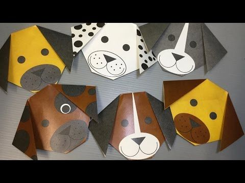 Photo of Free Origami Dog Paper – Print Your Own! – Cute Dogs