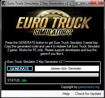 Euro Truck Simulator 2 Crack | Free Softs | Euro, Key, Trucks