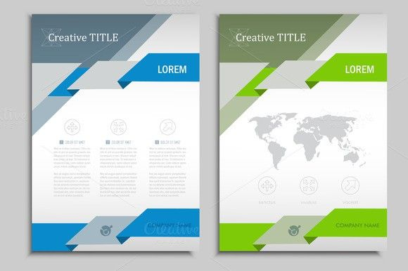 Vector Brochure Template Vol  Templates Brochures And