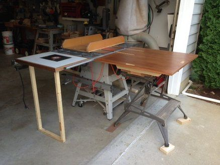 Outfeed Table Top For Workmate Workshop In 2019