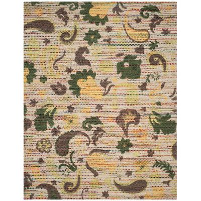 Bungalow Rose Veropeso Hand-Woven Area Rug Rug Size: 8' x 10'