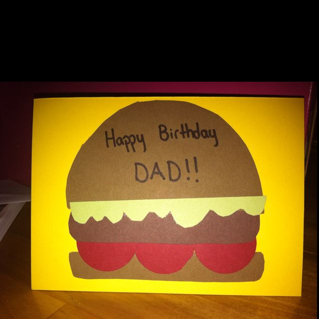 birthday card for my dad