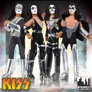 Retro Kiss Dolls From Figure Toy Co Kiss Action Figures Retro