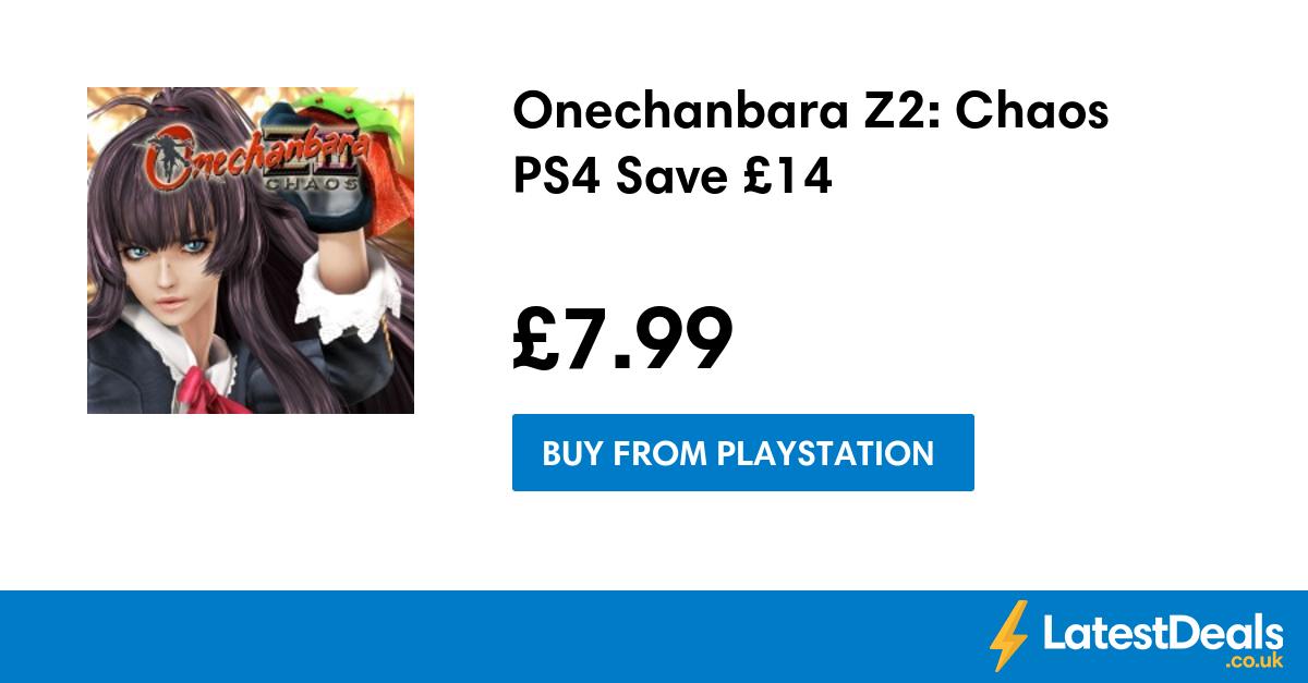 Onechanbara Z2 Chaos PS4 Save £14, £7.99 at PlayStation