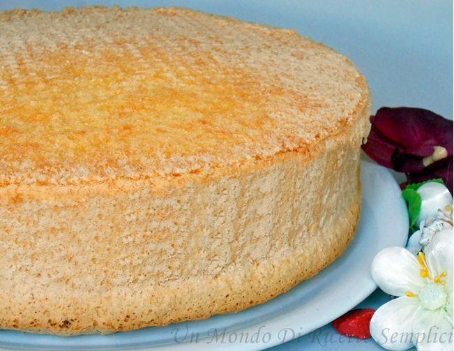 Pan di spagna, ricetta di base