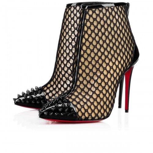 c8dc9bee1be0 ... Purchase Women s shoes Christian Louboutin guniboot Black 1160820CM53  outlet Store Online