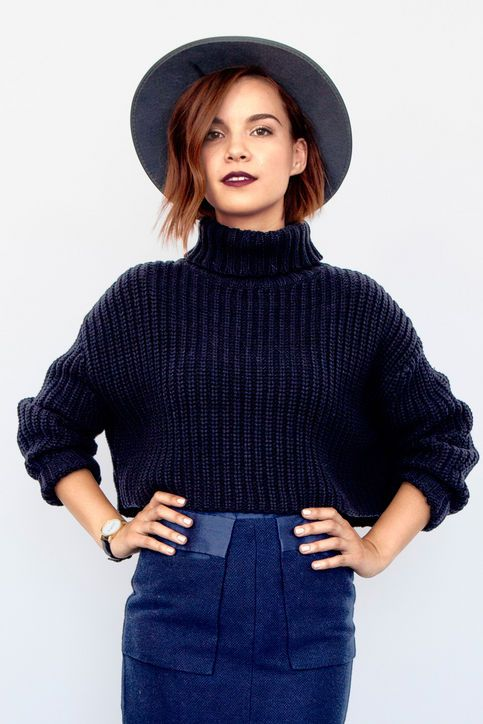 bf3f93d2e77ab YouTube star and our guest editor Ingrid Nilsen shares her favorite short  hair looks to try in 2016.