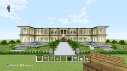 Awesome Mansion Design Minecraft Xbox 360 Just Minecrafters