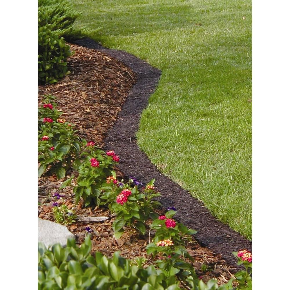 Superb Brown Lawn Edging Border EB61045EA   The Home Depot