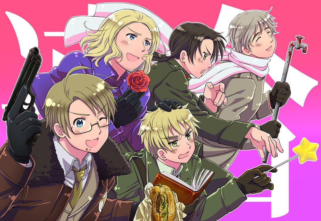 hetalia axis powers wallpaper by pokemonghostgirl18 on