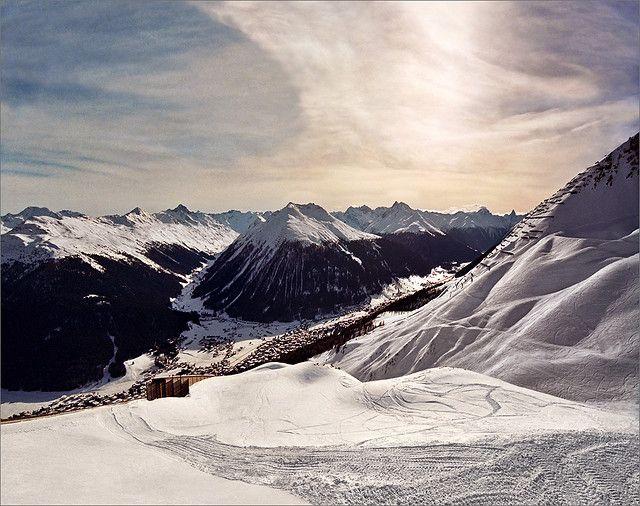 Magnificent Mountains by Katarina - Davos, Canton of Graubunden, China