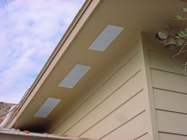 Green Vent Under Eave Vent Soffit Vents For Proper Home Ventilation Eave Vent Attic Vents Exterior Solutions