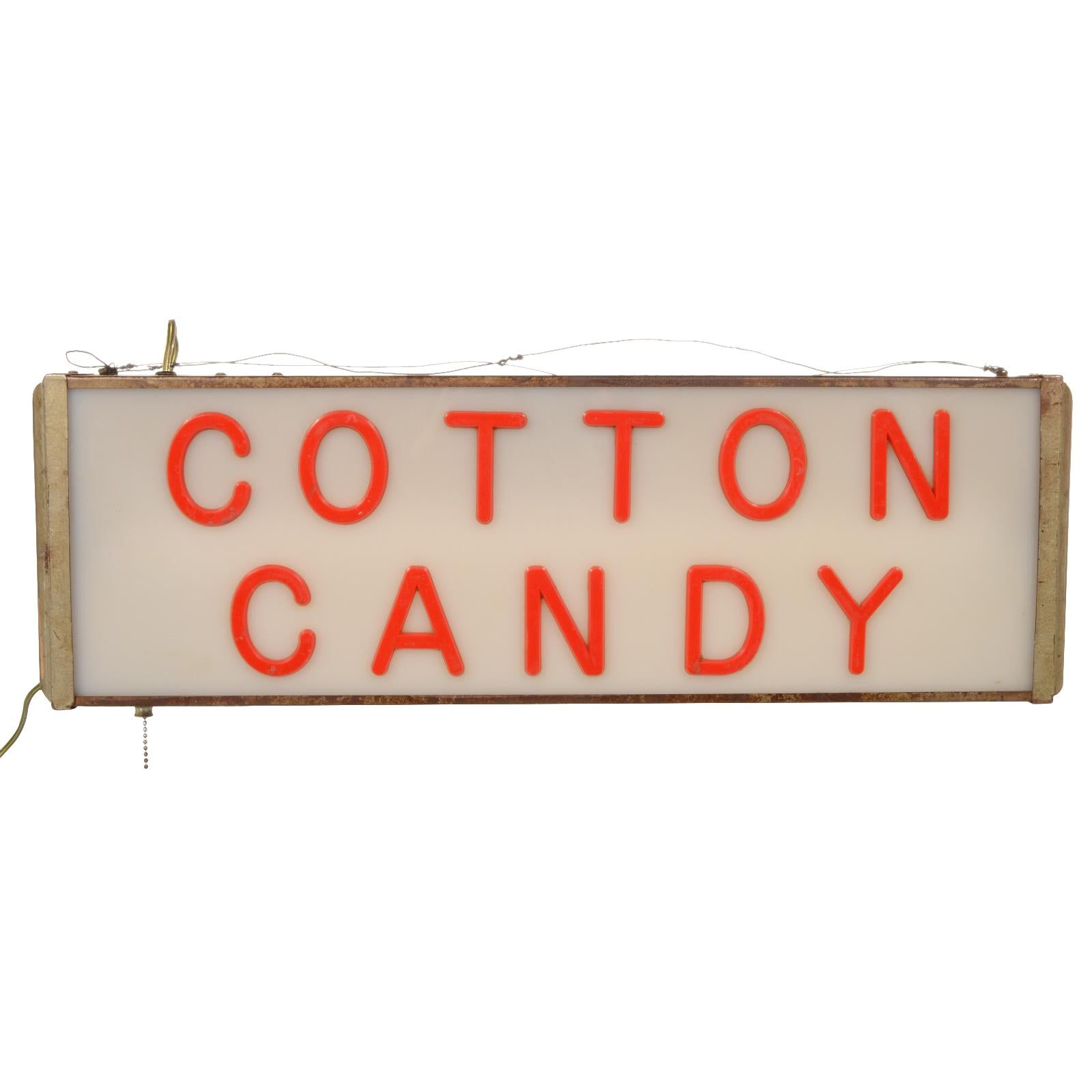 Lighted Cotton Candy Sign In 2020 Candy Signs Retail Signs Storefront Signs