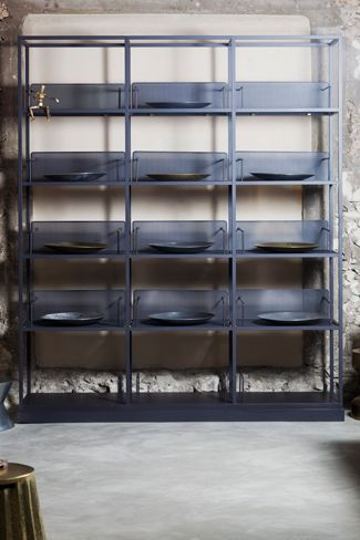 "Karen Chekerdjian Studio - Products - ""Carol and Georges"" Library"