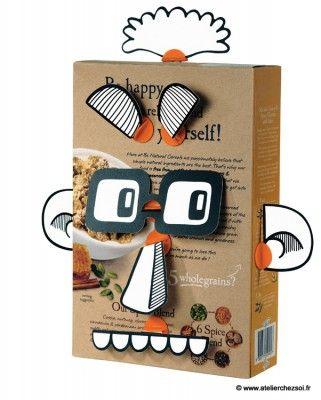 fabrique un personnage avec les box props makedo bricolage enfants activit manuelle et. Black Bedroom Furniture Sets. Home Design Ideas
