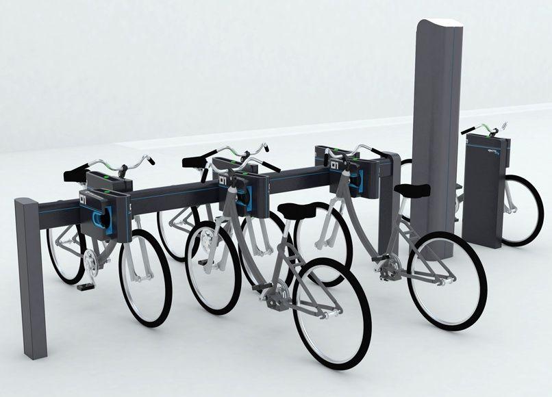 Mobiplugs by Saintronic - Design RCP Design Global - Borne de recharge pour vélo électrique