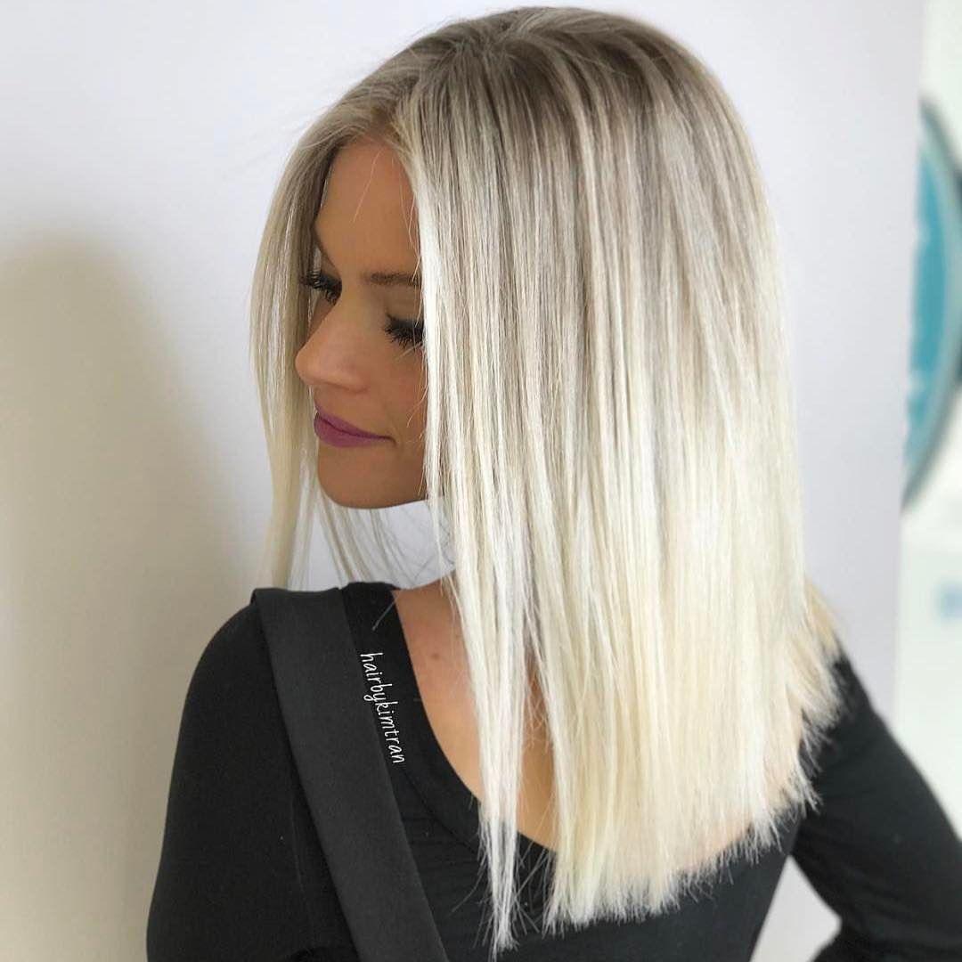Blonde Dyed Hair