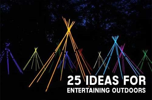 25 Ideas For Entertaining Outdoors
