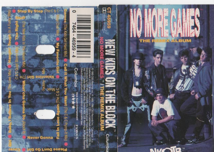 No More Games Is About Positivity And Positivity Is Not About Bein Soft Its About Bein Smart You Sucka New Kids On The Block Games For Girls Nkotb