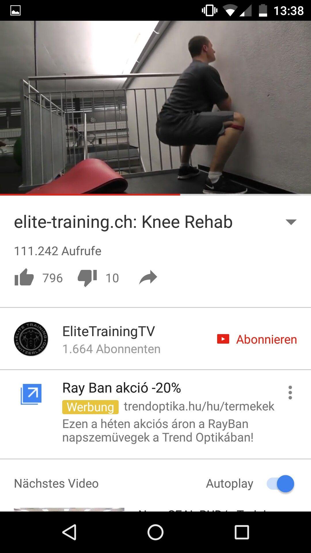 Knieübungen