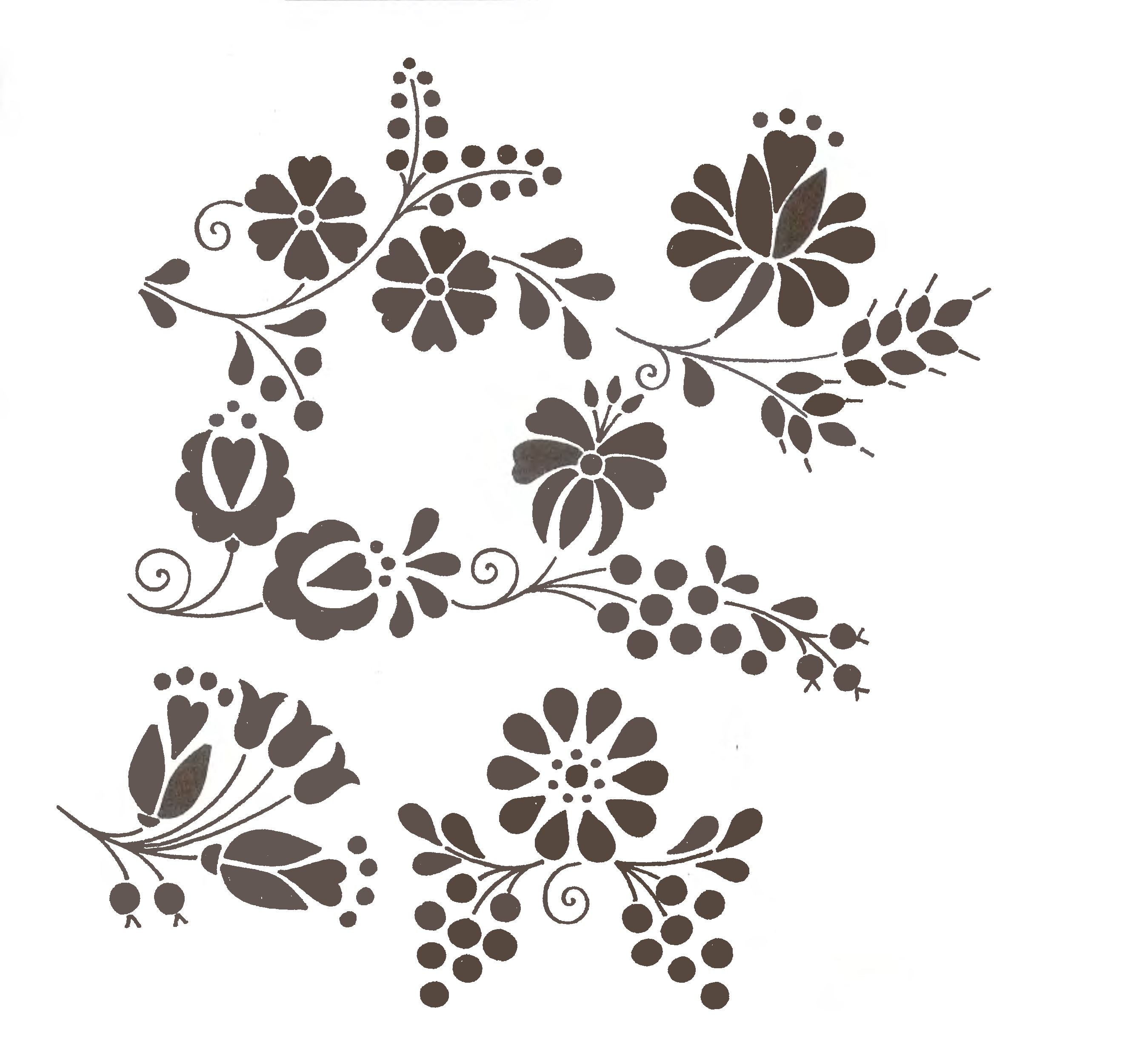 kalocsai | Tejido | Pinterest | Bordado, Patrones y Dibujos para bordar