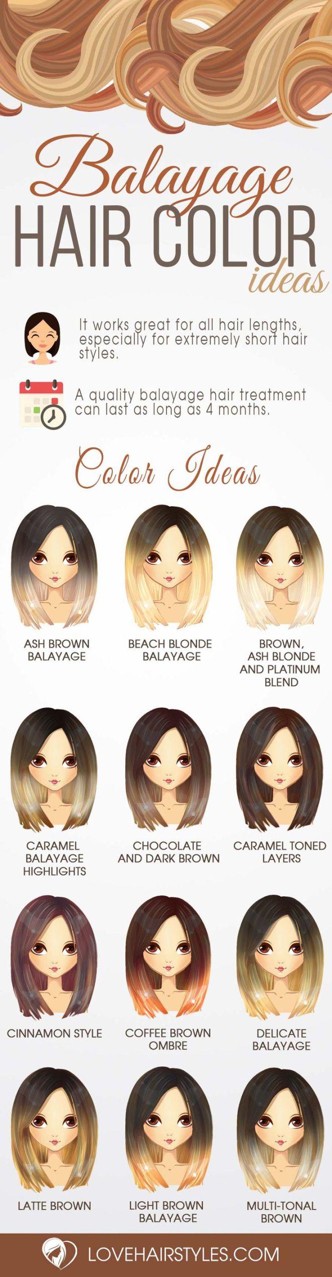 nouvelle tendance coiffures pour femme 2017 2018 balayage id es de couleur de cheveux en. Black Bedroom Furniture Sets. Home Design Ideas