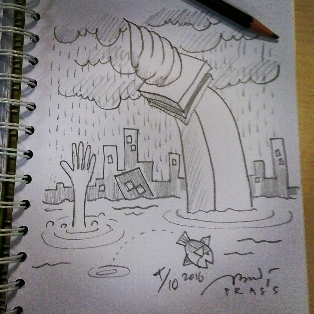 Turut prihatin dengan banjir yg melanda sebagian wilayah