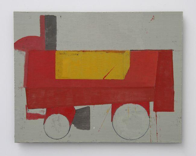 7 Mario De Brabandere - Compositie met houten bouwblokken - 2011 - No. 11 - 55 x 70 cm