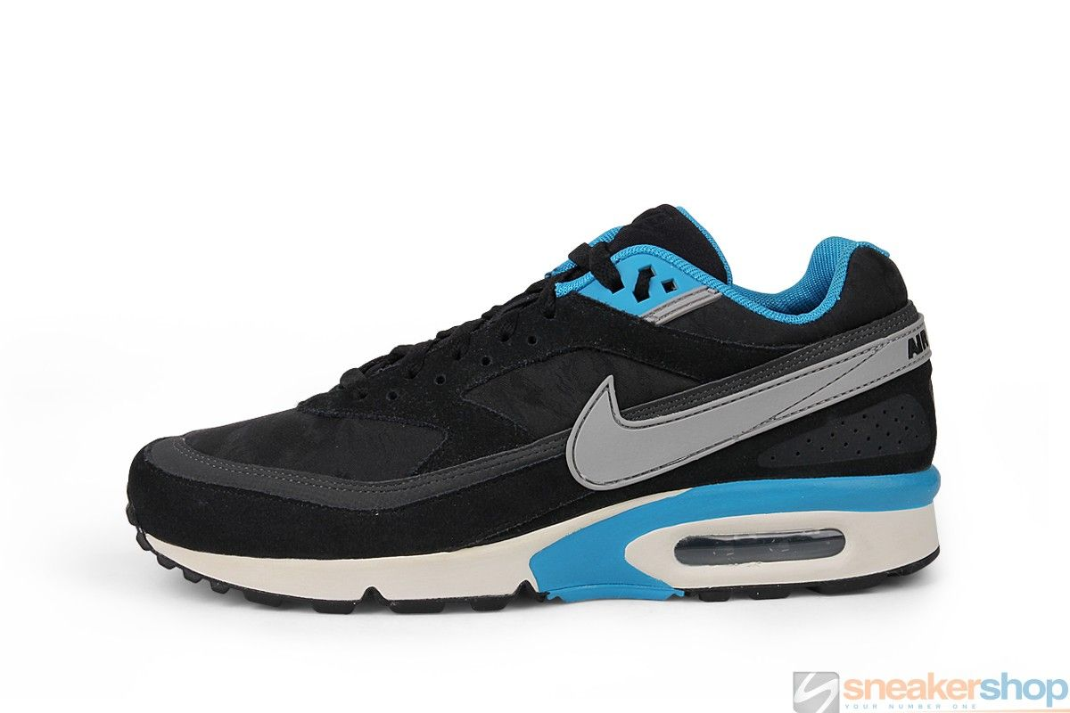 Nike Air Classic BW Premium (Black Matte Silver-Anthracite-Black ... febb722c2f