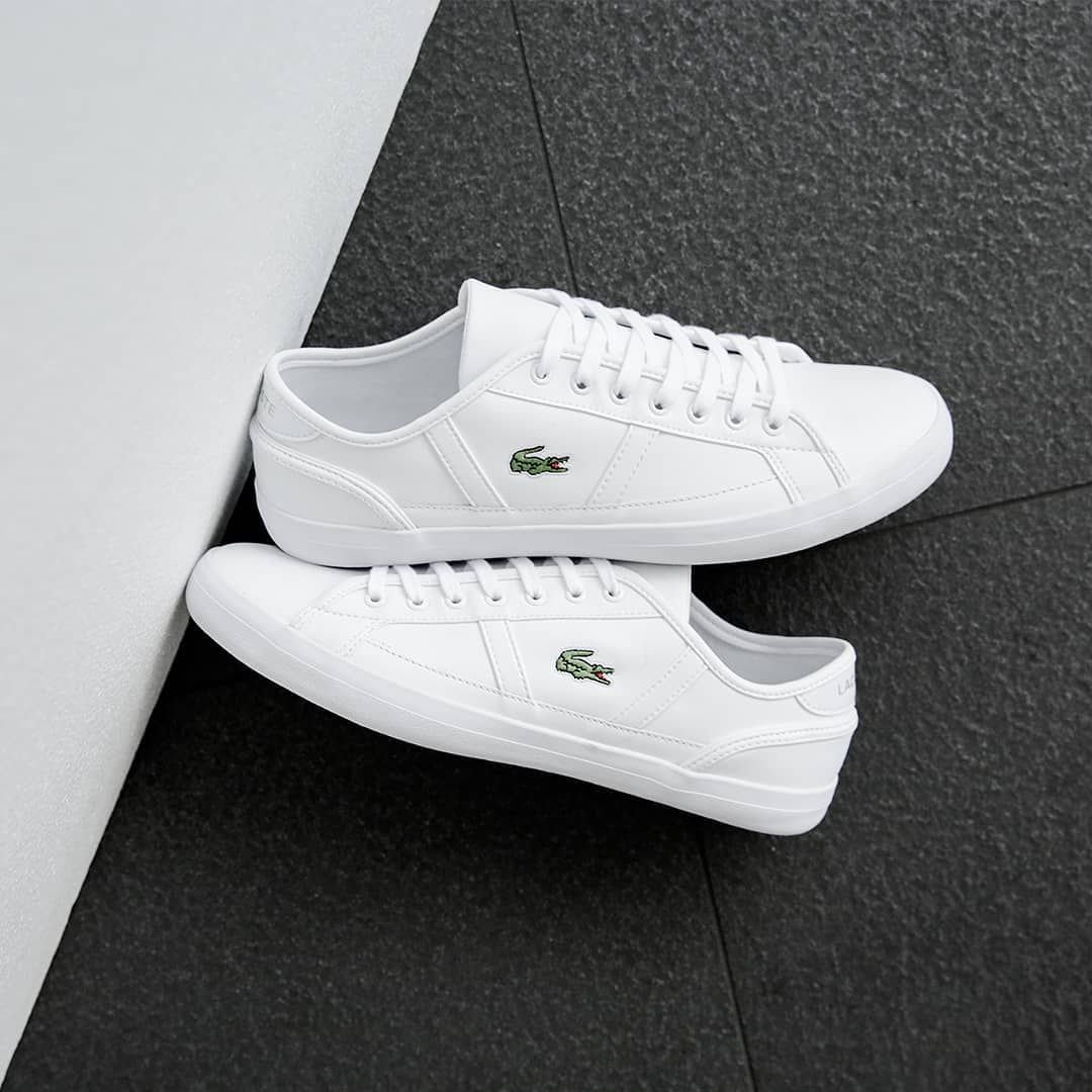 Always clean, neat and tidy The JDExclusive Lacoste