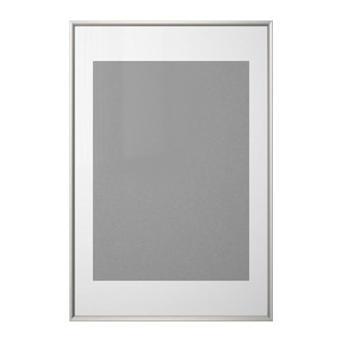 IKEA SILVERHOJDEN Silver Color Frame Ikea frames, Frame