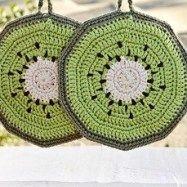 Free Crochet Potholder Patterns #crochetpotholderpatterns