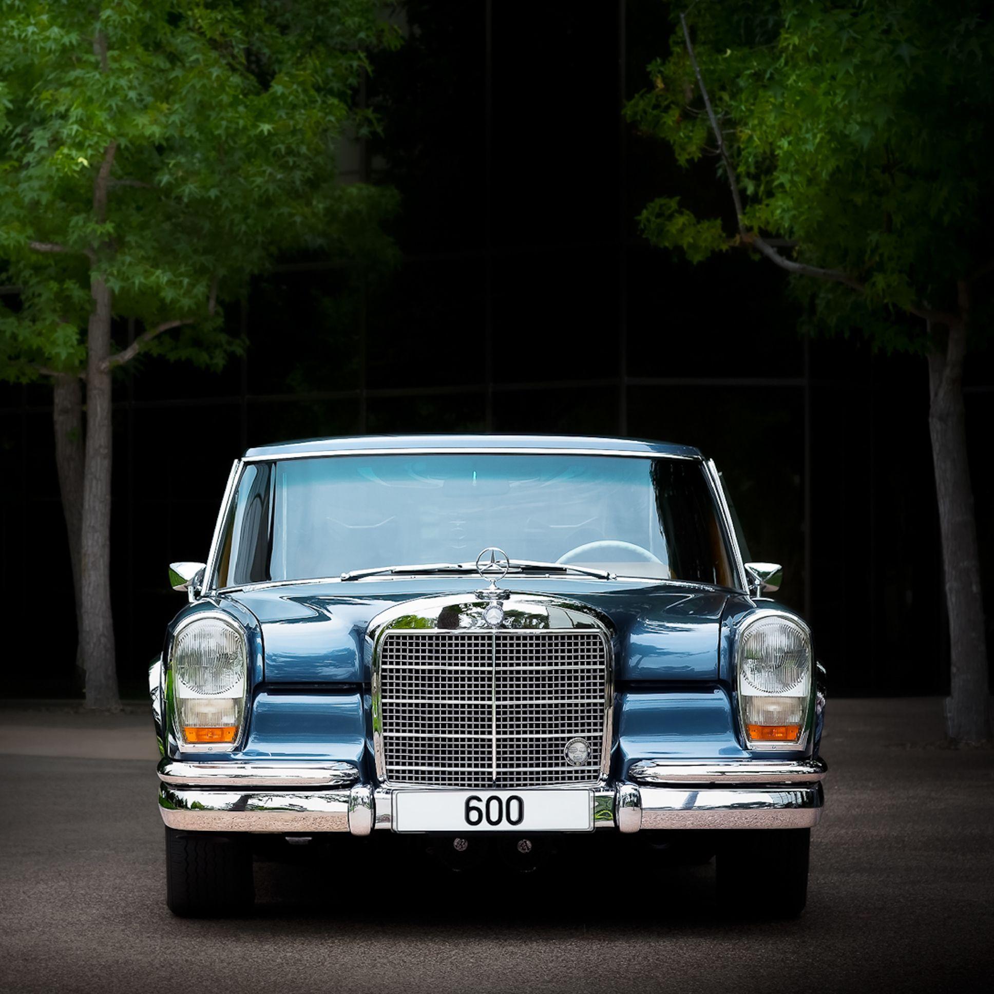 Rare 1969 Swb 600 Of The Mercedes Benz Classic Center Usa Photo