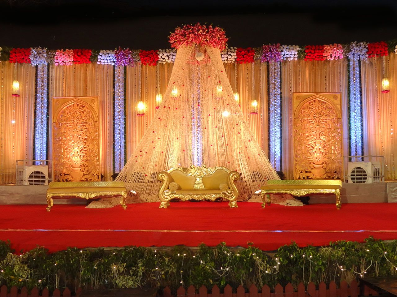 Indian Wedding Stage Decoration Best Decorator India Bangalore Decorations Flower