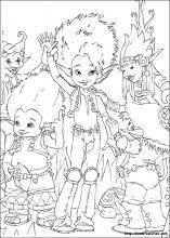 Coloriage Arthur Et Les Minimoys Coloring Books Coloring Pages