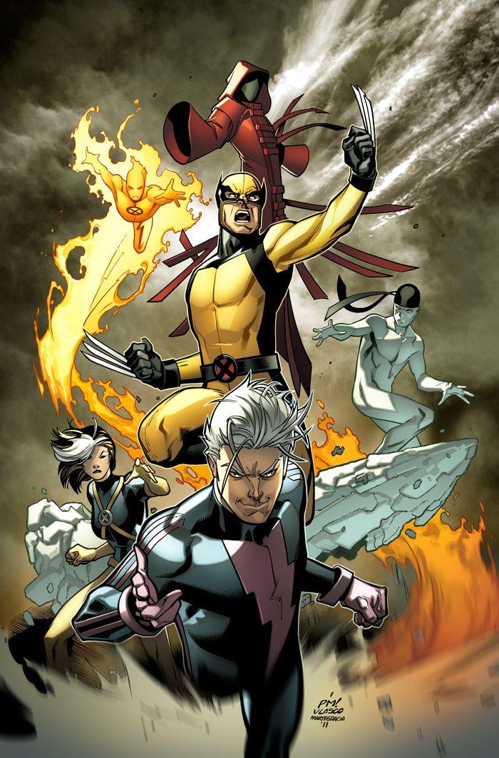 Ultimate Xmen 01 By Martegracia On Deviantart Comics X Men Marvel Superheroes