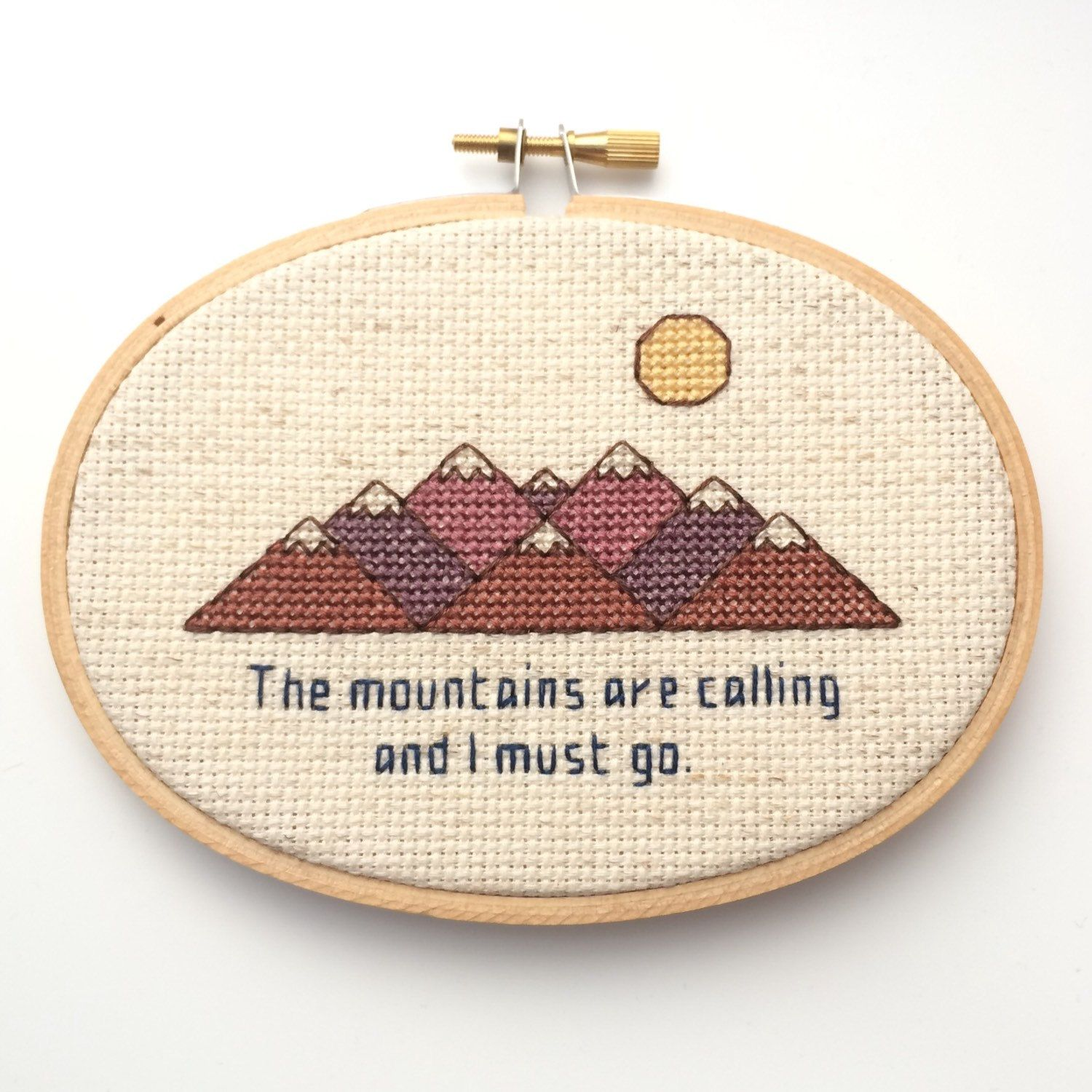 The Mountains Are Calling And I Must Go - John Muir Quote - Nature ...