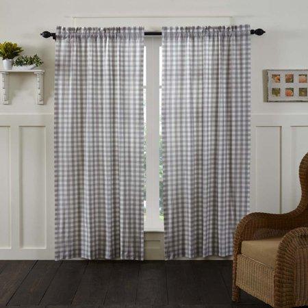 Home Buffalo Check Curtains Check Curtains Farmhouse Curtains