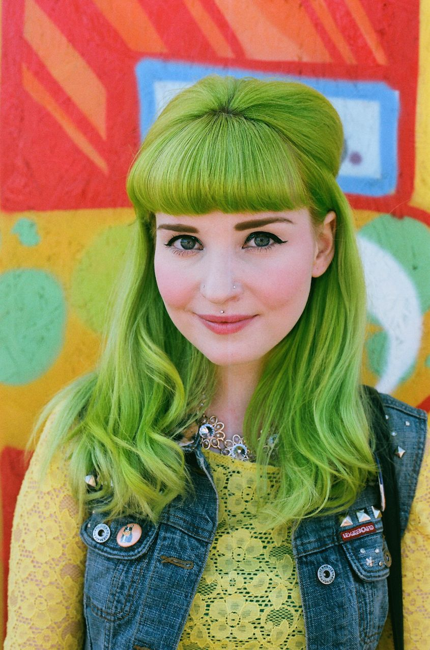 The Best Beauty Looks From Burgerama