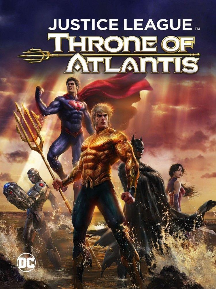 Review Justice League Throne Of Atlantis Movie Comicbookwire Justice League Comic Book Superheroes Atlantis