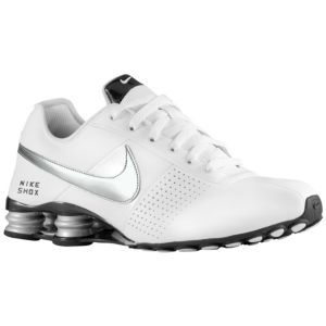 Nike Shox Deliver - Men s - Running - Shoes - White Stealth Black Metallic  Silver 66506cd01