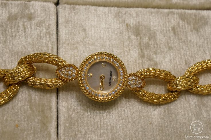 Boucheron - Serpent watch, yellow gold