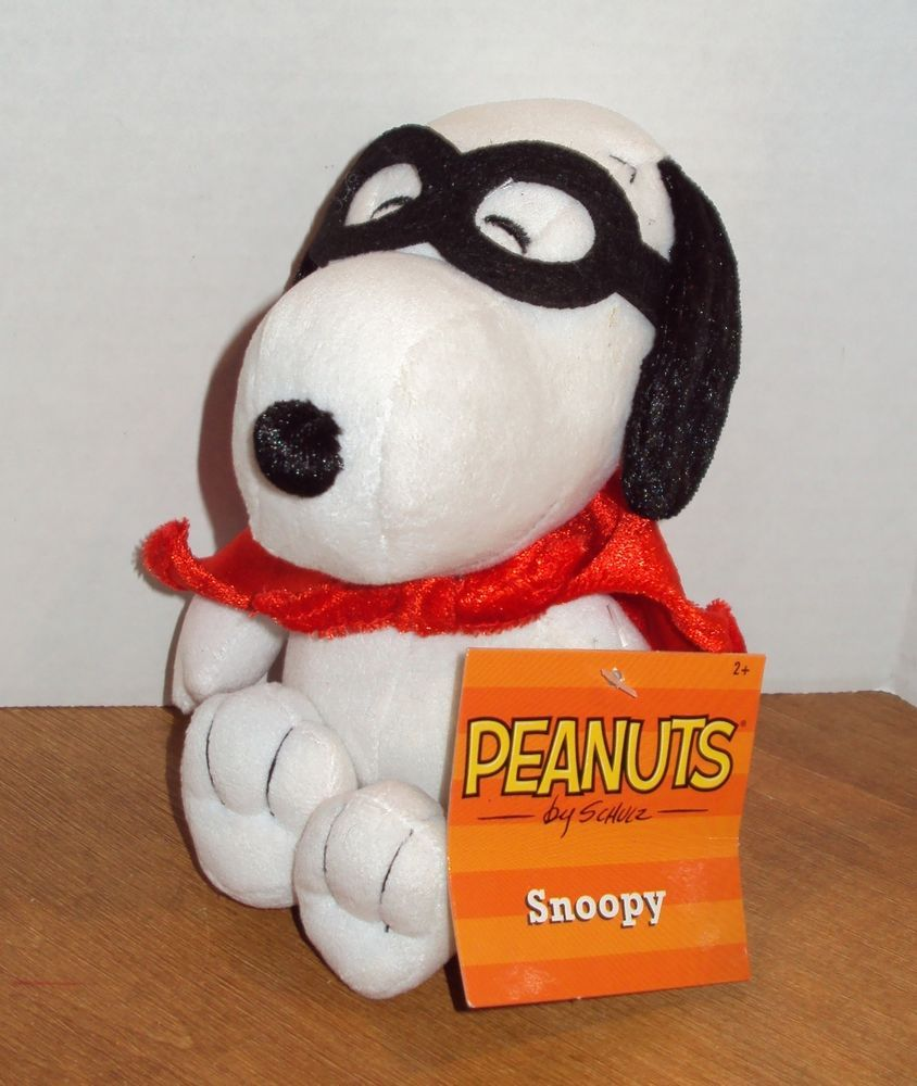 3 Three Peanuts Halloween Snoopy Mask Woodstock Witch Hat 9