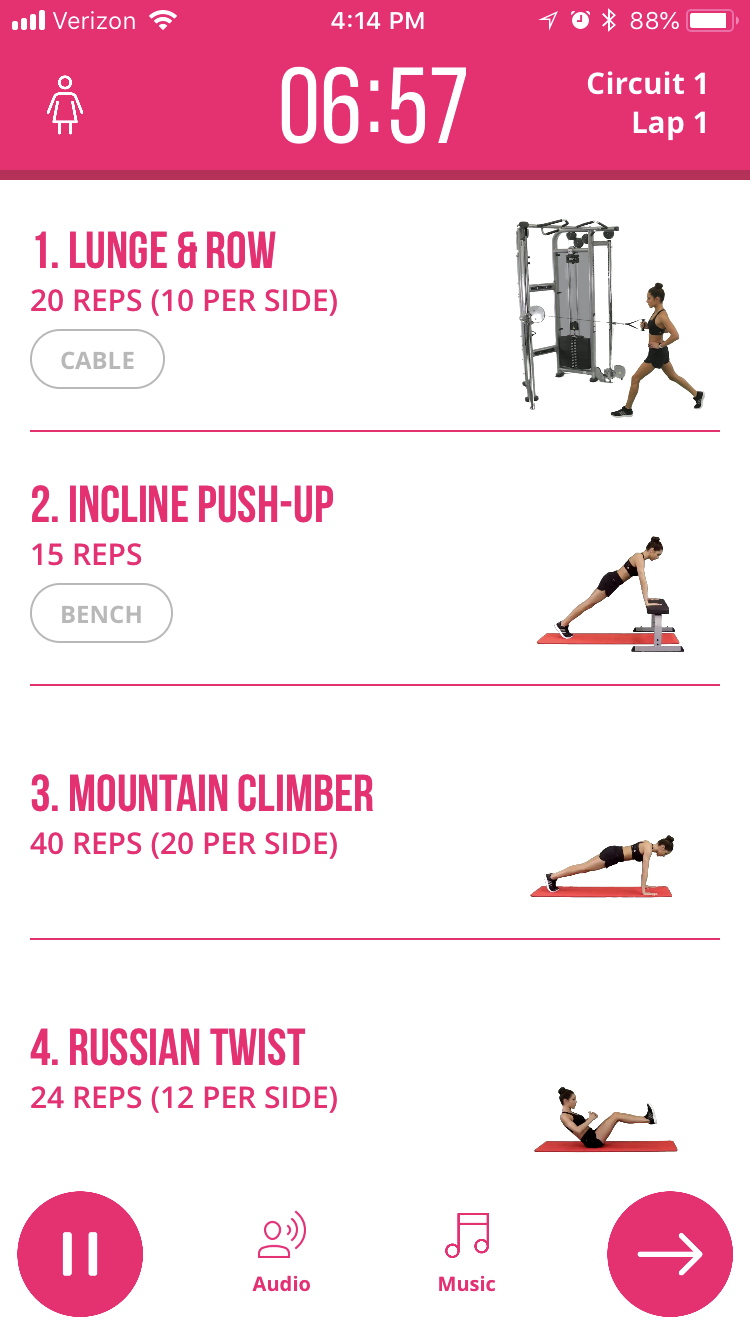 Bbg Stronger Pdf : stronger, Circuit, Stronger,, Workouts,, Workout