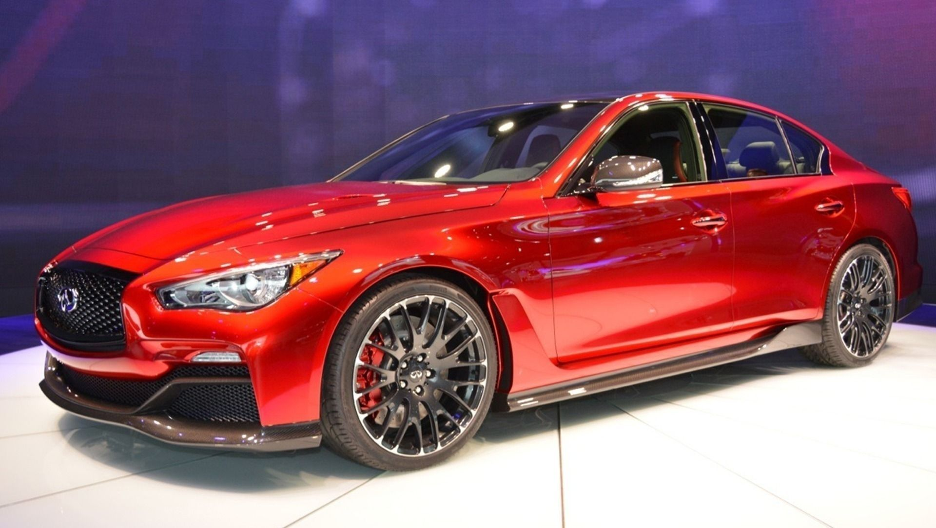 2019 Infiniti Q60 Red Sport Spy Shoot Cars Motorcycles