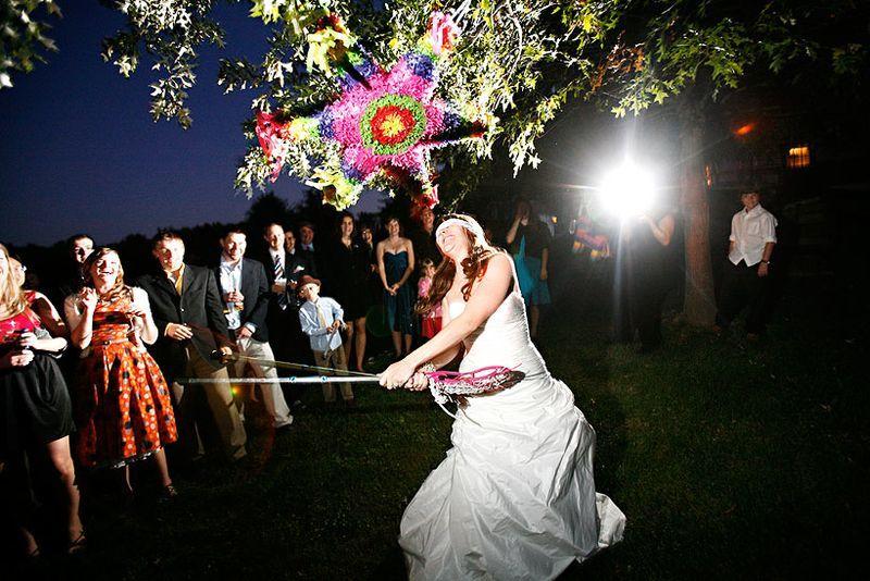 Holly Chapple The Full Bouquet Blog Wedding Pinata Wedding Bride Guide