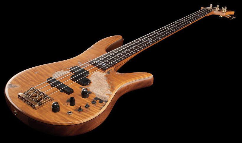 Fodera VW Classic Monarch LTD aged bass guitar - Thomann www