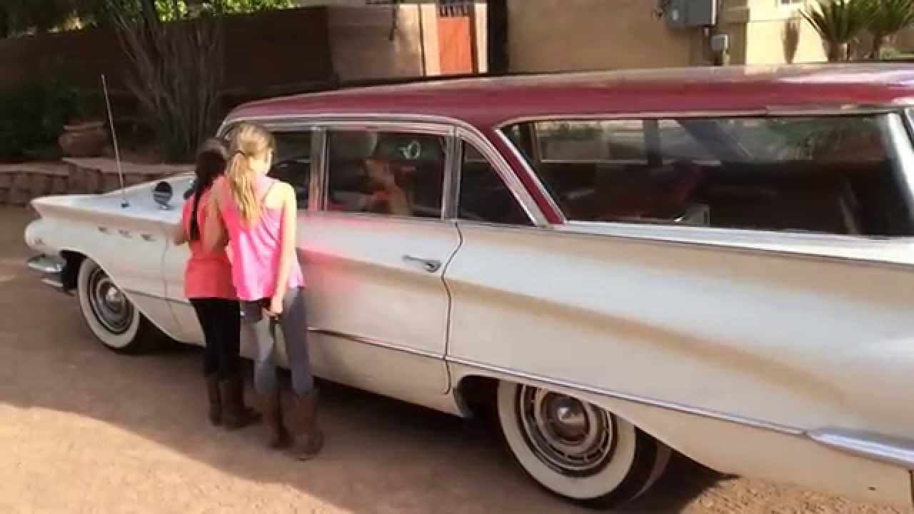 You like old school rides? Check this one out with Mike and girls ...