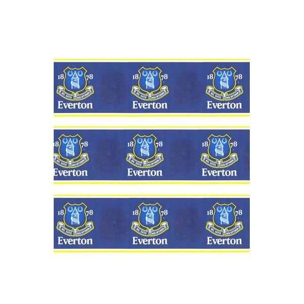 Everton F.C. Wallpaper Border Wallpaper / Lighting UK