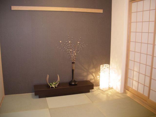 和室 アクセントウォールのアイデア集 インテリア壁紙 和室 和室